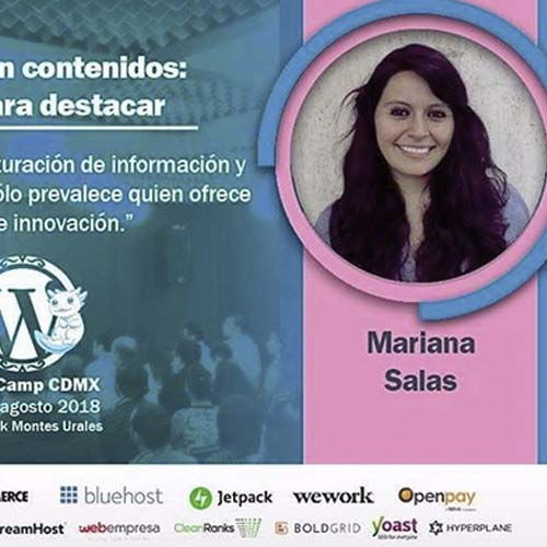 Content Marketing en WordCamp CDMX 2018